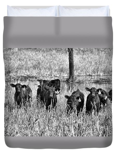 Eight Babies Duvet Cover