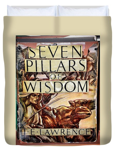 Seven Pillars Of Wisdom Lawrence Duvet Cover