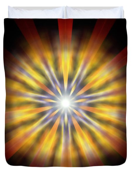 Seven Sistars Of Light Duvet Cover