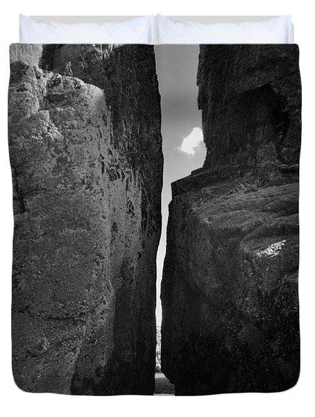 Severed Rock Duvet Cover