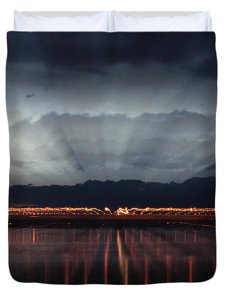 Severn Bridge Duvet Cover