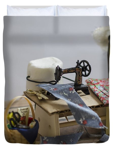 Sew Sweet Duvet Cover by Heather Applegate