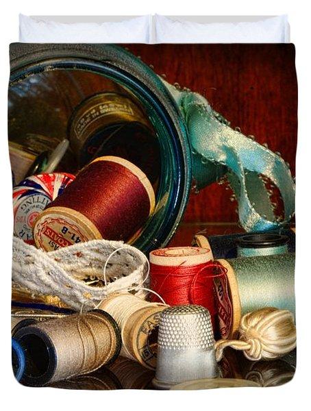 Sewing - Grandma's Mason Jar Duvet Cover by Paul Ward
