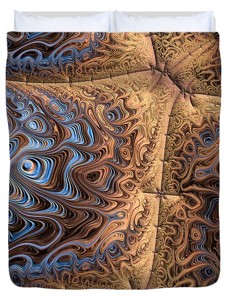 Sewn  Duvet Cover by Heidi Smith