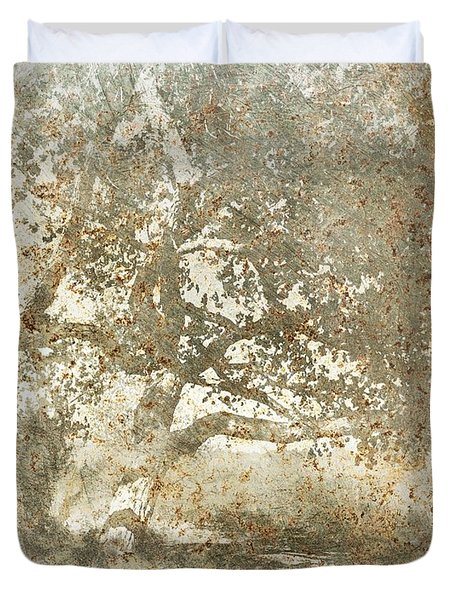 Shade Tree Duvet Cover by Brett Pfister