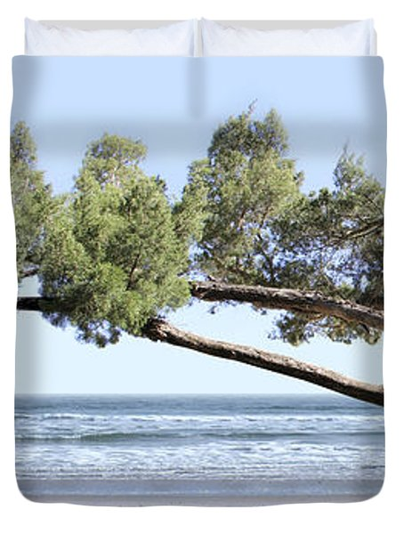 Shade Tree Panoramic Duvet Cover