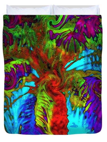 Shade Trees On Venus Duvet Cover