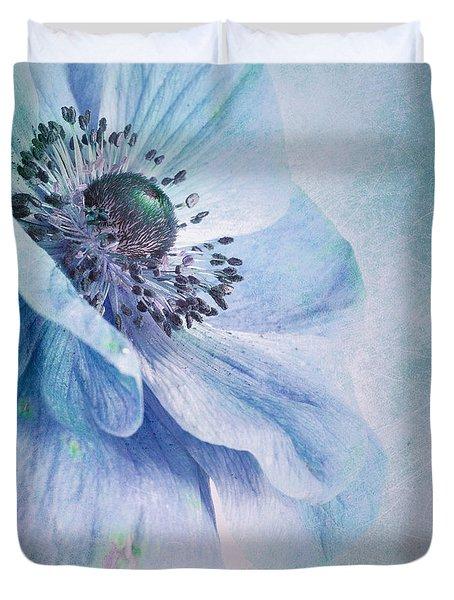 Shades Of Blue Duvet Cover by Priska Wettstein