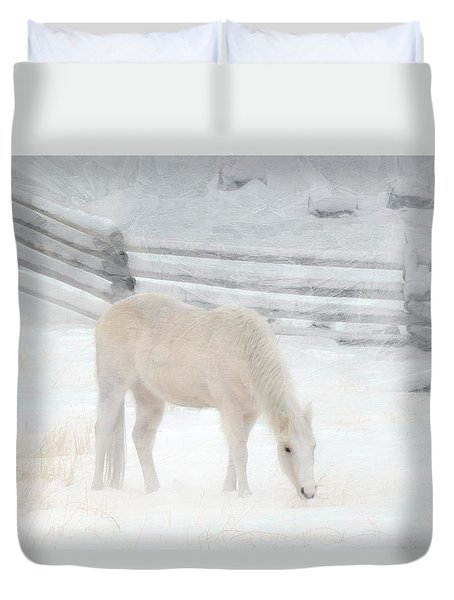 Shades Of Pale Duvet Cover