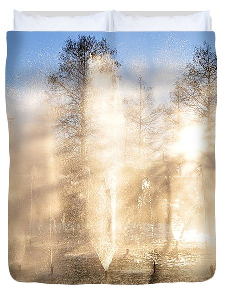 Shadow Play Duvet Cover