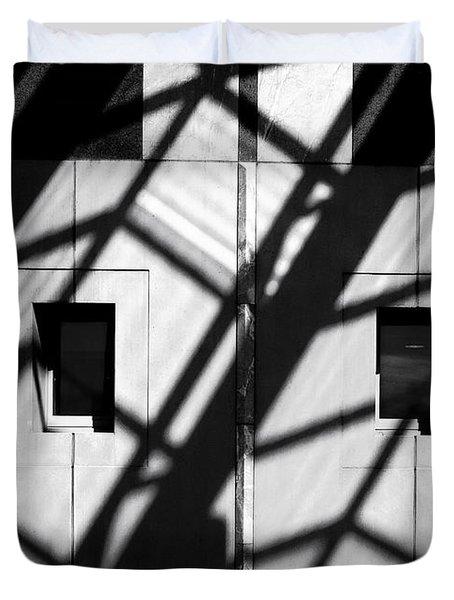 Shadows Canberra Duvet Cover by Steven Ralser