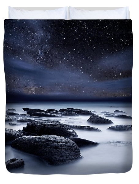 Shadows Of The Night Duvet Cover