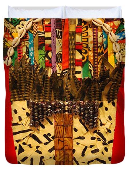 Shaka Zulu Duvet Cover