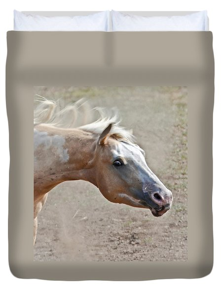 Shake It Loose Baby Duvet Cover by Athena Mckinzie