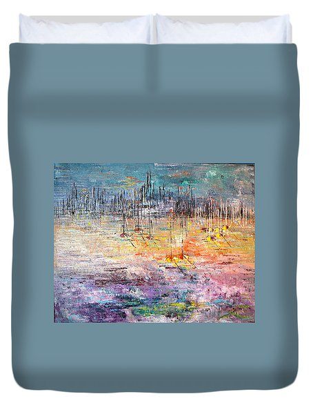 Shallow Water - Sold Duvet Cover