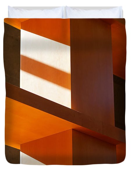 Shapes And Shadows 2 Duvet Cover by Ernie Echols