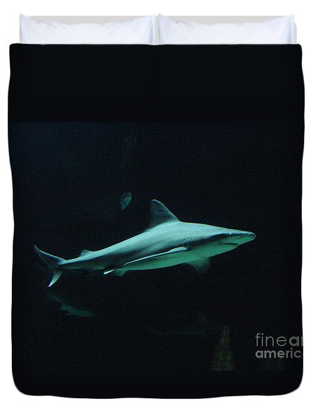 Shark-09451 Duvet Cover by Gary Gingrich Galleries