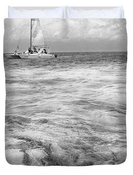 Shark N Sail Black N White Duvet Cover