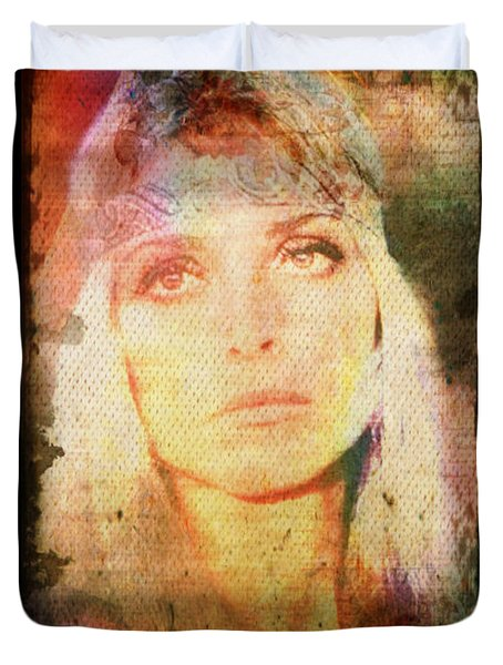 Sharon Tate - Angel Lost Duvet Cover