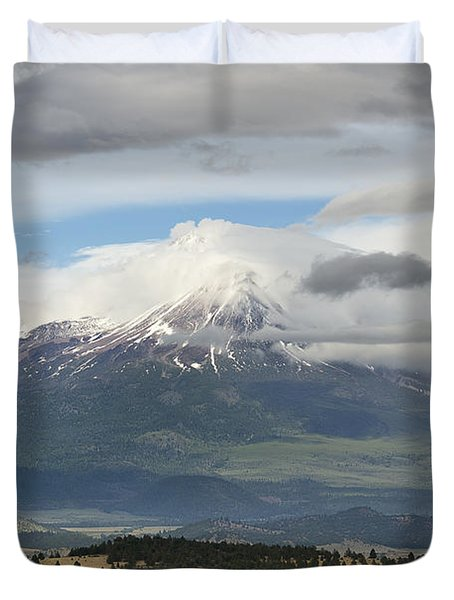 Shasta W Clouds Duvet Cover
