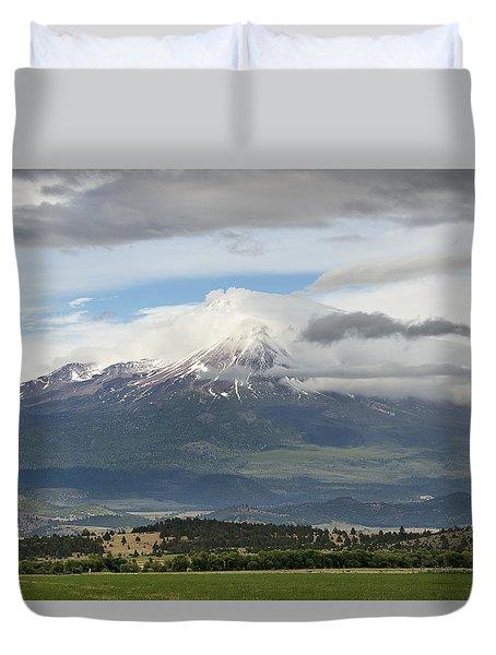 Shasta W Clouds Duvet Cover