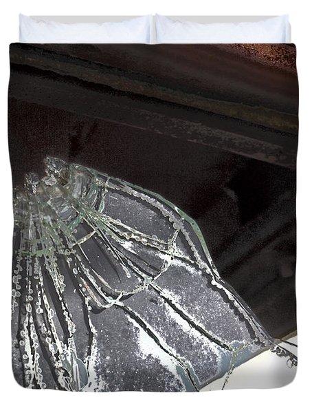 Shattered Duvet Cover by Lynn Sprowl