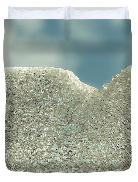 Shattered Summer Day Duvet Cover