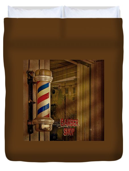 Shave And A Haircut Two Bits  Duvet Cover