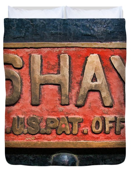 Shay Builders Plate Duvet Cover