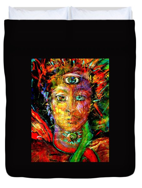 Third Eye Duvet Cover