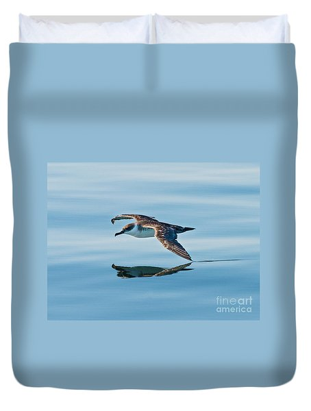 Shearing The Water... Duvet Cover by Nina Stavlund