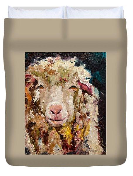 Sheep Alert Duvet Cover