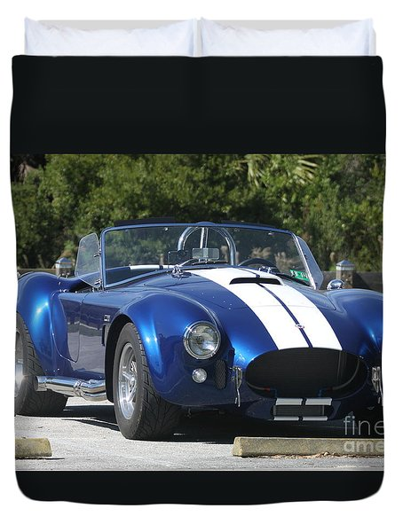 Shelby Cobra Duvet Cover by Christiane Schulze Art And Photography