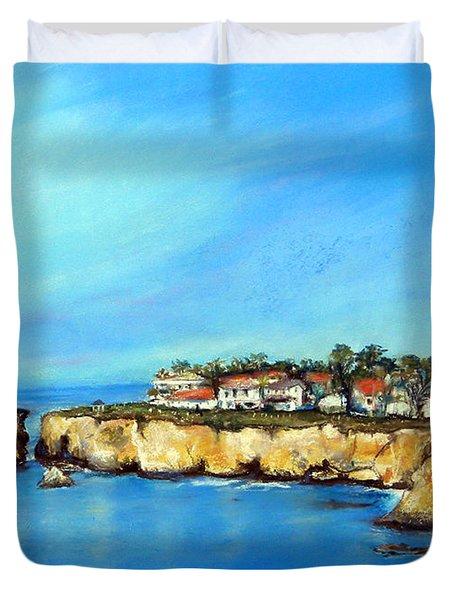Shell Beach California Duvet Cover