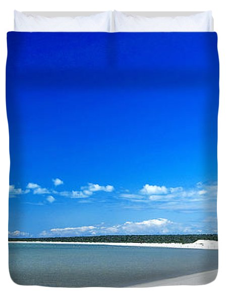 Shell Beach Duvet Cover by Yew Kwang
