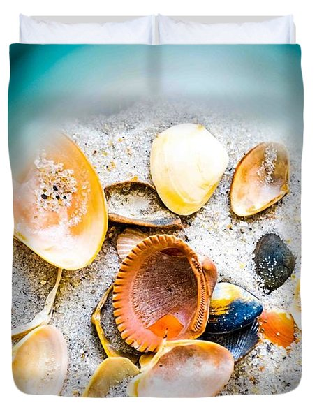 Shell Paradise  Duvet Cover