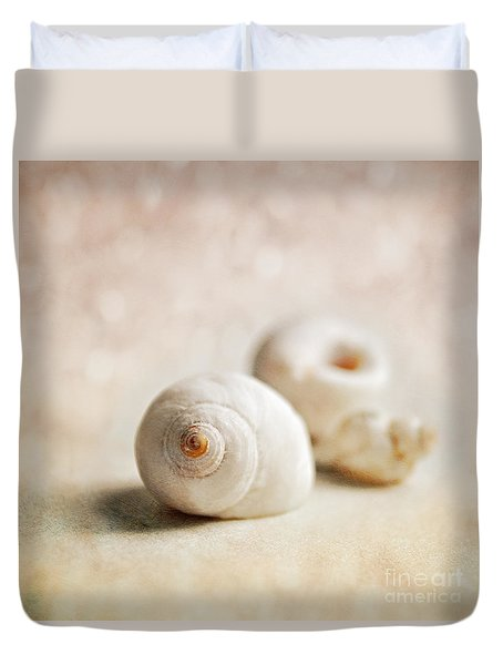 Shells Duvet Cover by Lyn Randle