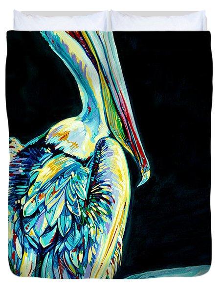 Shelter Island Pelican Duvet Cover