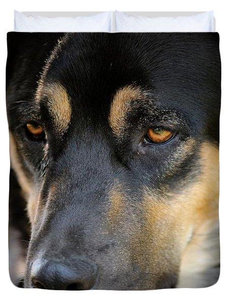 Shepherd Face Duvet Cover