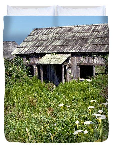 Shepherd's Cabin Duvet Cover by Kathleen Bishop
