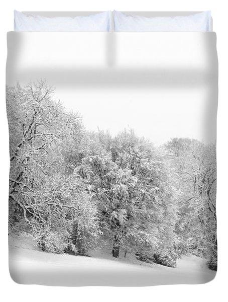Sherman's Wood Duvet Cover by Anne Gilbert