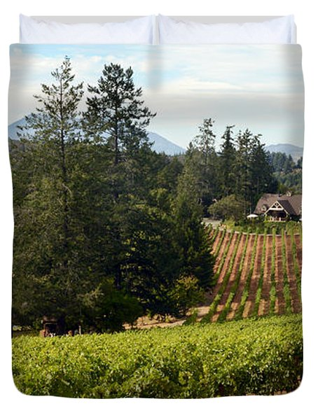 Sherwin Family Vineyards Duvet Cover
