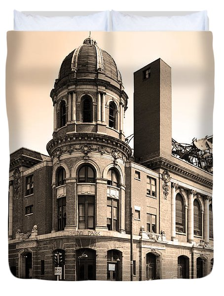 Shibe Park  Duvet Cover by Bill Cannon