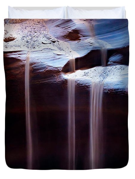 Shifting Sands Duvet Cover by Dave Bowman