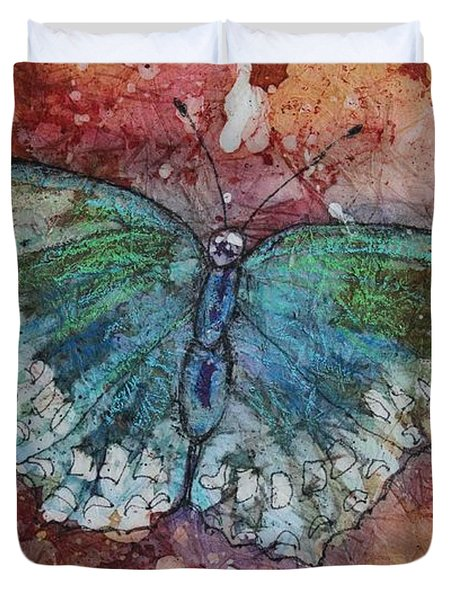 Shimmer Wings Duvet Cover