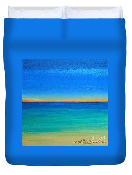 Shimmering Sea Duvet Cover