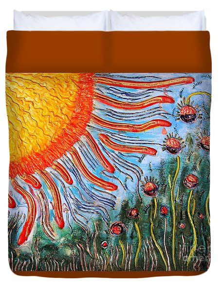 Shine On Me Duvet Cover