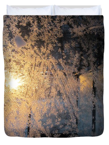 Shines Through And Illuminates The Day Duvet Cover