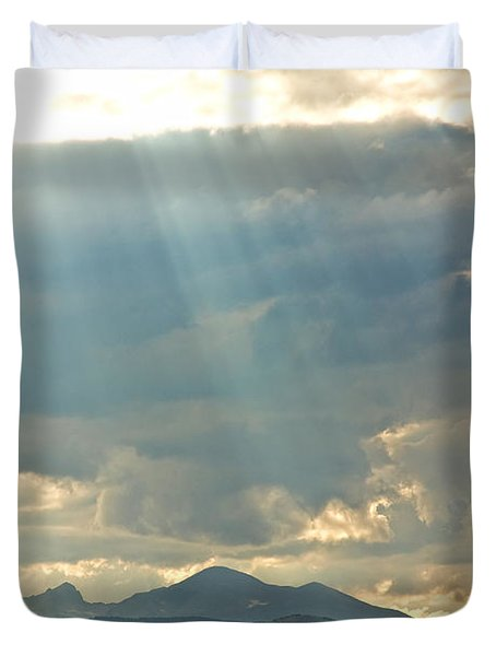 Shining Down Duvet Cover by James BO  Insogna