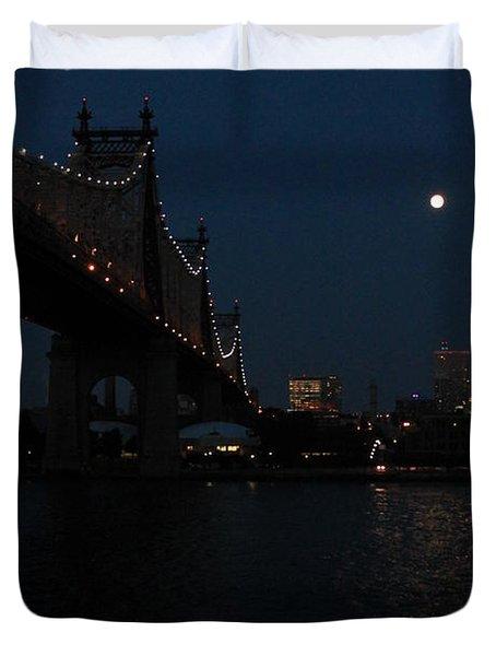 Shining Moon Duvet Cover